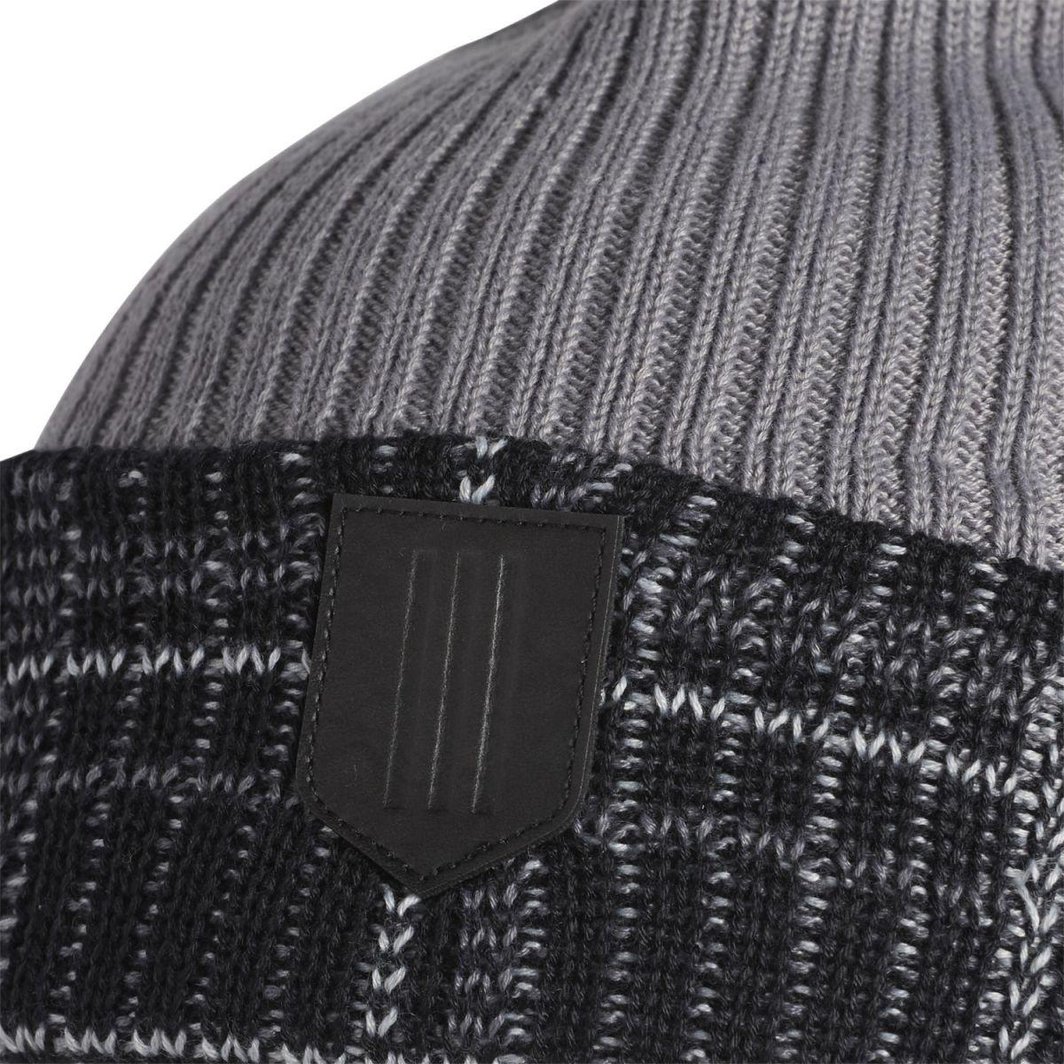 adidas beanie novelty grey black