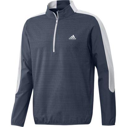 Adidas jacket 1/4 zip print navy white