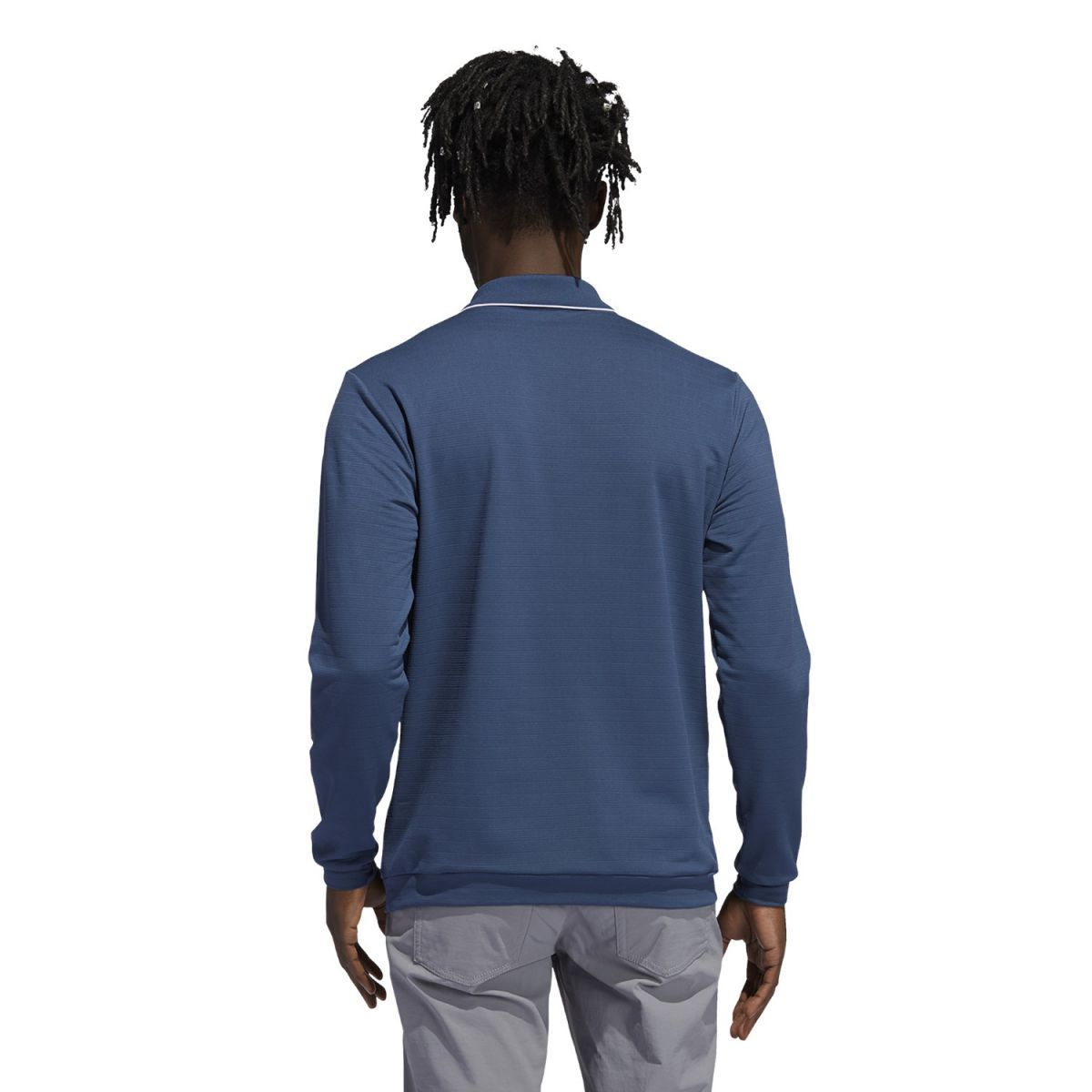adidas polo thermal navy s