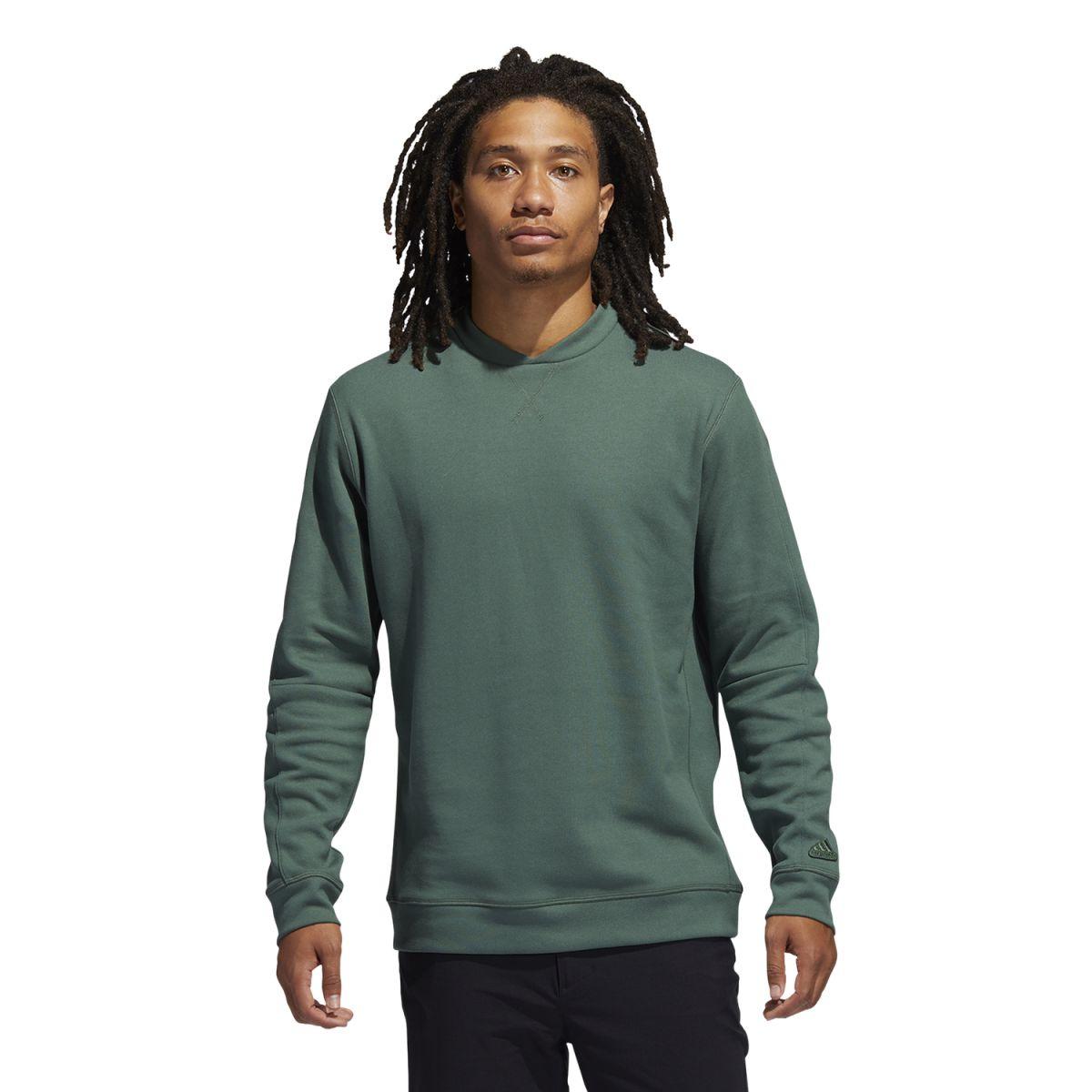 adidas sweater goto crew green s