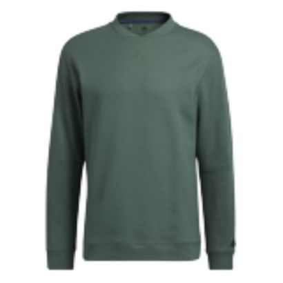 Adidas sweater go-to crew green