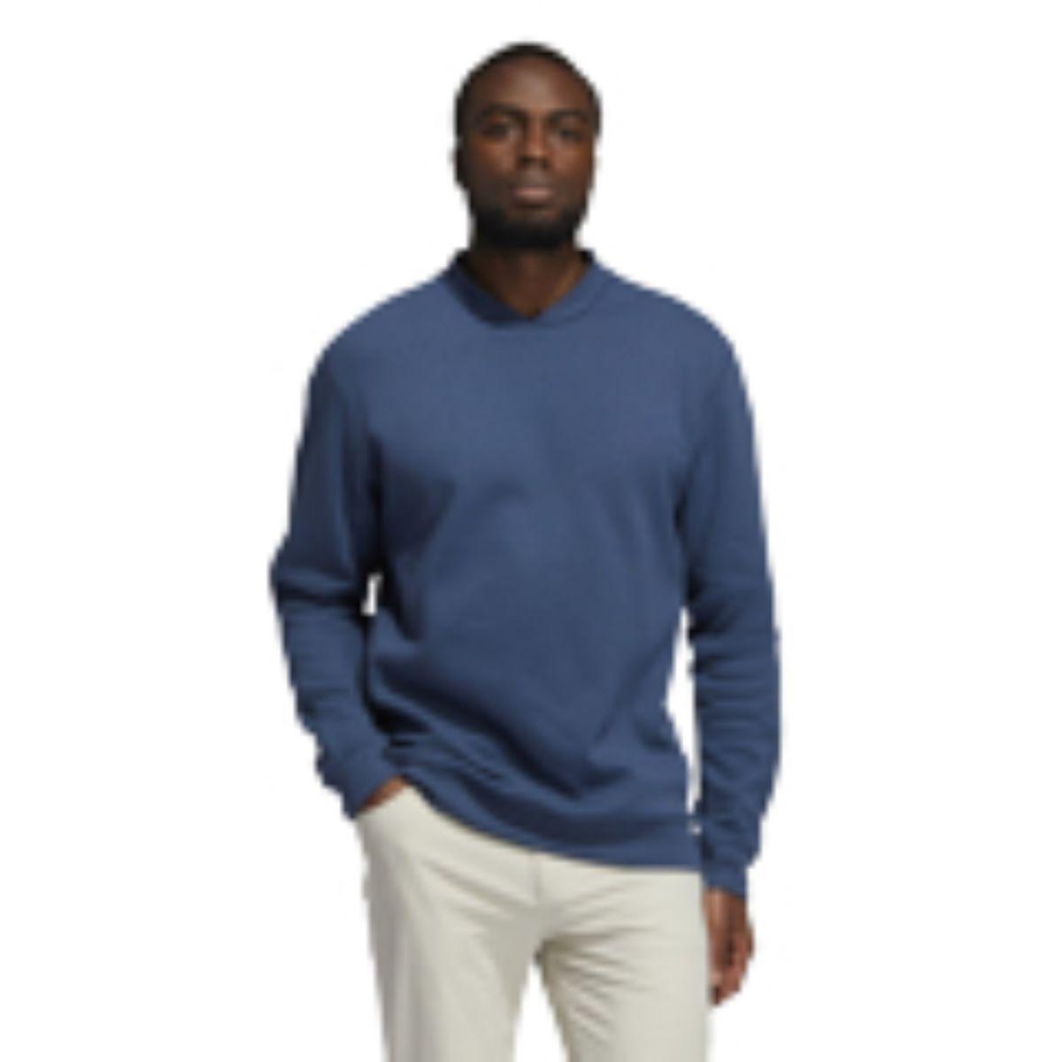adidas w sweater goto sweatshirt crew navy s