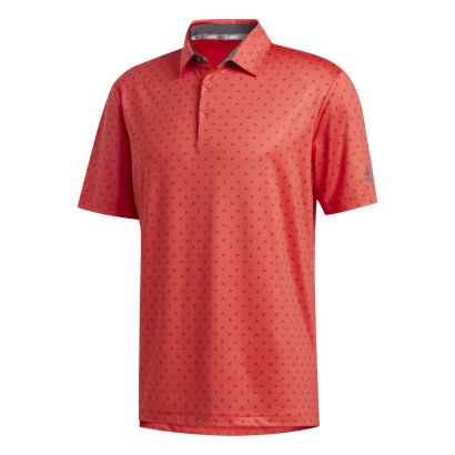 Adidas Ultimate Bos Polo real coral/grey five