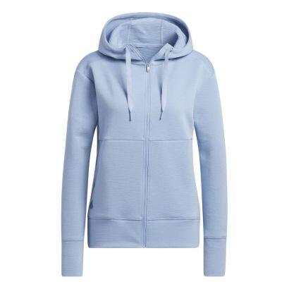 Adidas W hoodie cold ready light blue