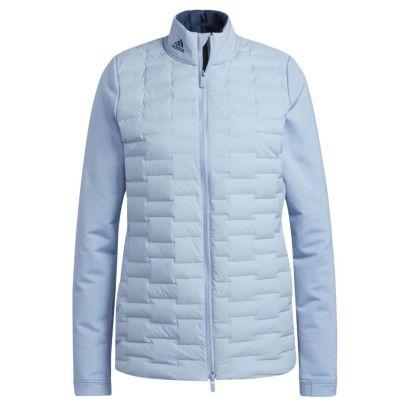 Adidas W jacket frost guard light blue