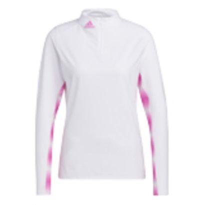 Adidas W Midlayer heat ready white pink
