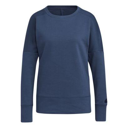Adidas W sweater go-to sweatshirt crew navy