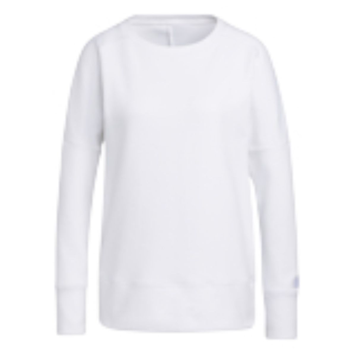 adidas w sweater goto sweatshirt crew white s
