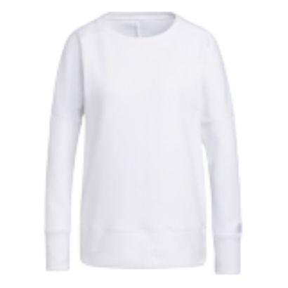 Adidas W sweater go-to sweatshirt crew white