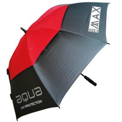 Big Max Aqua UV umbrella Charcoal Red