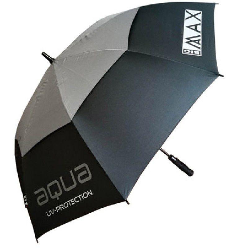 big max aqua uv umbrella charcoal silver