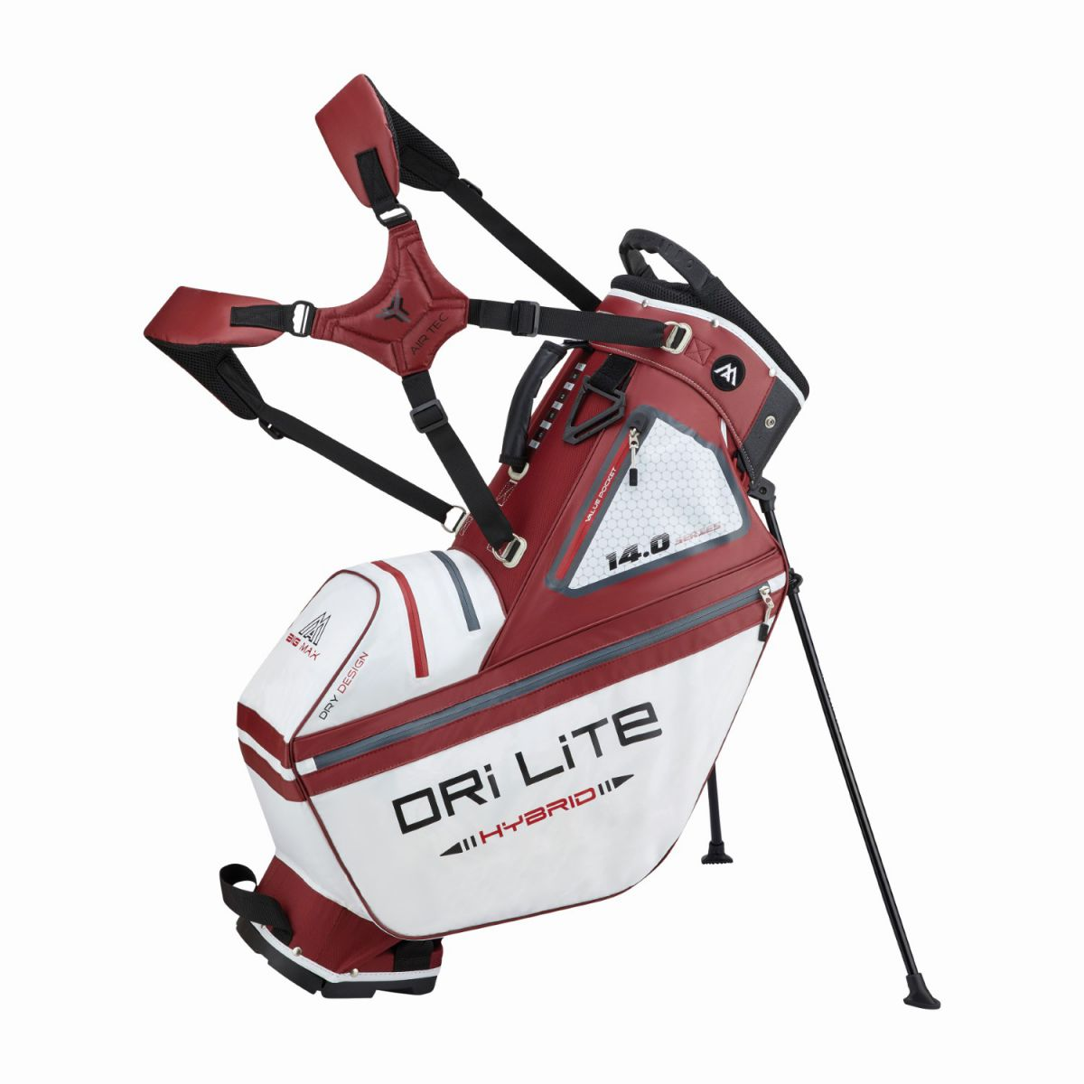 big max standbag drilite hybrid tour white merlot