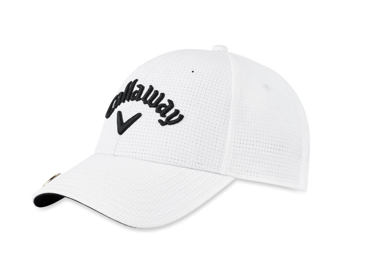 callaway cap stitch magnet white
