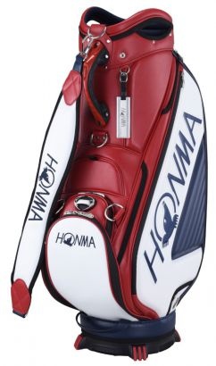 Honma Pro Caddy CartBag Red Navy