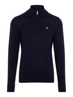 J.Lindeberg Kian Tour Merino Sweater JL Navy