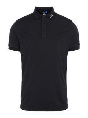 J.Lindeberg Polo Tour Tech TX Jersey Black