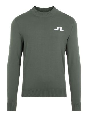 J.Lindeberg Sweater Gus Thyme Green