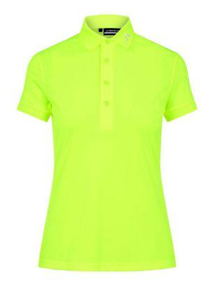 J.Lindeberg W Polo Tour Tech yellow