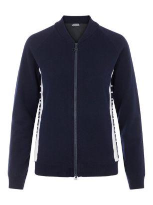 J.Lindeberg W sweater winderbreaker dina navy