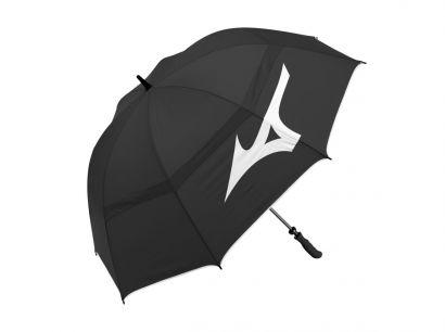 Mizuno umbrella Tour Twin Canopy Black White