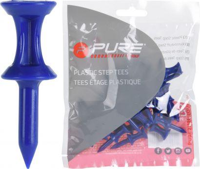 P2I step tees Blue 37mm 37mm