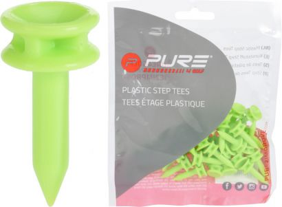 P2I step tees Green 24mm 24mm