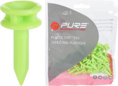 P2I step tees Green 24mm 24mm