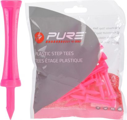 P2I step tees Pink 53mm 53mm