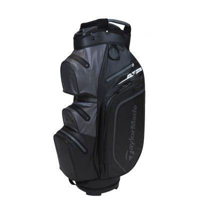 TaylorMade CartBag Storm-Dry WP Black Charcoal