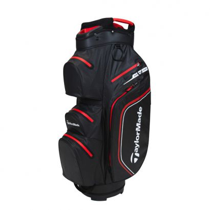 TaylorMade CartBag Storm-Dry WP Black Red