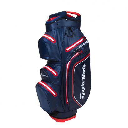 TaylorMade CartBag Storm-Dry WP Navy Red