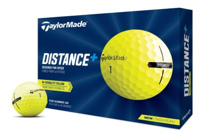 TaylorMade Distance + yellow
