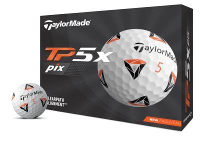 TaylorMade golfballen TP5X pix 2.0