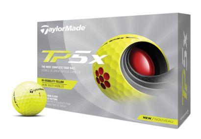 TaylorMade golfballen TP5X yellow