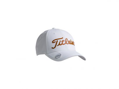 Titleist cap white collection white orange