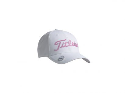 Titleist cap white collection white pink