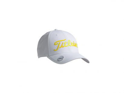 Titleist cap white collection white yellow