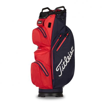 Titleist CartBag StaDry 14 Navy Red