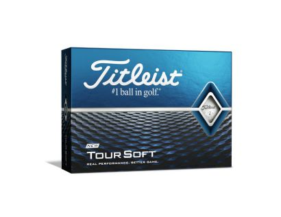 Titleist Golfballen TOUR SOFT white